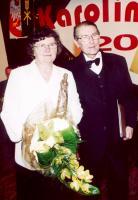 Chór parafialny Jutrzenka oraz Aniela i Zdzisław Martyniakowie