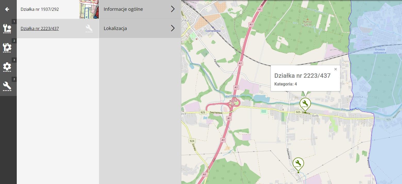 tereny usługowe Czerwionka-Leszczyny