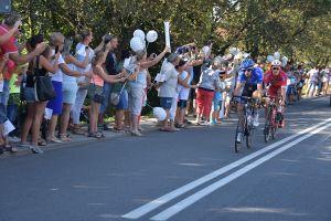 Tour de Pologne - strefa kibica w Bełku
