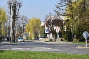 Przebudowa skrzyżowania ulic ks. Pojdy-Ligonia na
