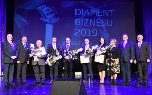 """Nagrody dla przedsiębiorców - """"Diament Biznesu 2019"""""""
