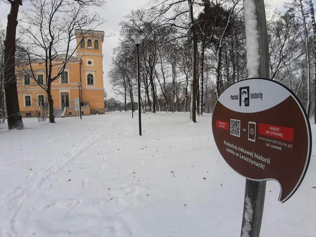 Na zdjęciu: Zameczek w Leszczynach