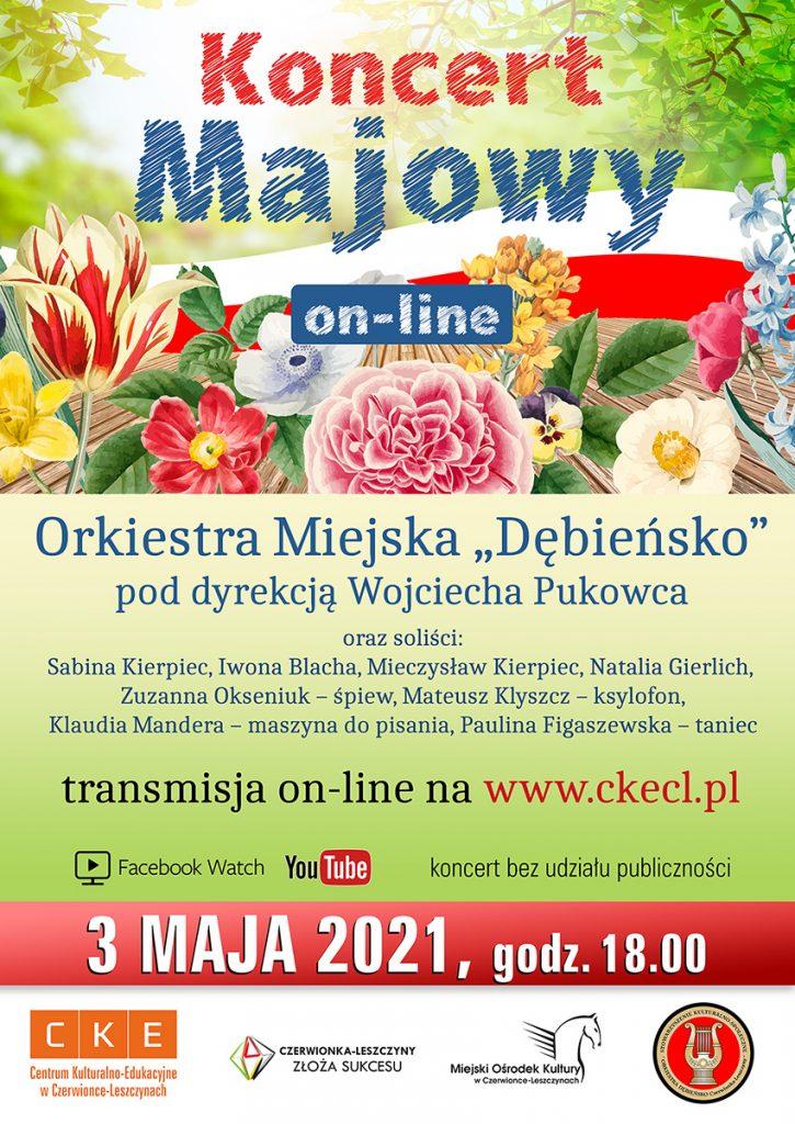 Plakat promujący Koncert Majowy