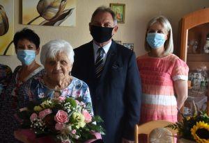 Setne urodziny Pani Gertrudy Kurpanik