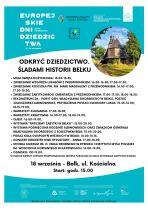 """""""Odkryć Dziedzictwo. Śladami historii Bełku"""" - Europejskie Dni Dziedzictwa w Bełku"""