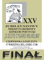 """Finał XXV Konkursu Poetyckiego """"O złote cygaro Wilhelma"""""""