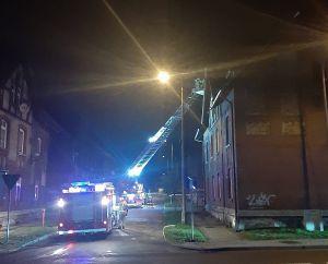Pożar w familoku przy ul. Słowackiego